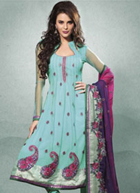 Elegant Stylish Embroidered Salwar Kameez
