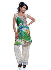 Abstract Print Kurti