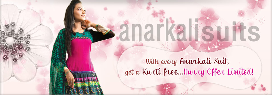 Anarkali Suit Offer