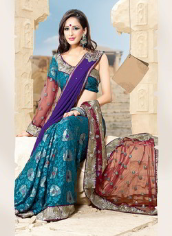 Enigmatic Embroidered Saree