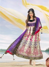 buttercream salwar kameez