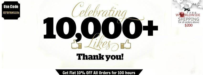Facebook 10k Likes