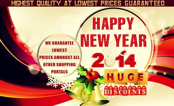 Happy New Year 2014 Offer