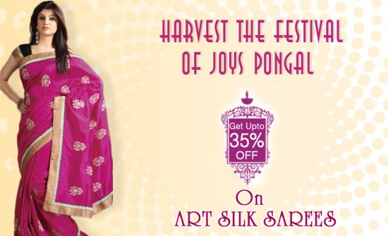 Sale on Art Silk Sarees