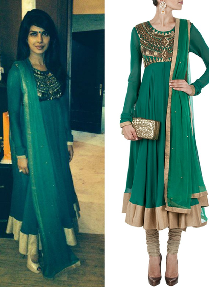 Buy Priyanka Chopra Anarkali Suit