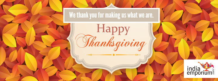 Happy Thanksgiving India Enporium