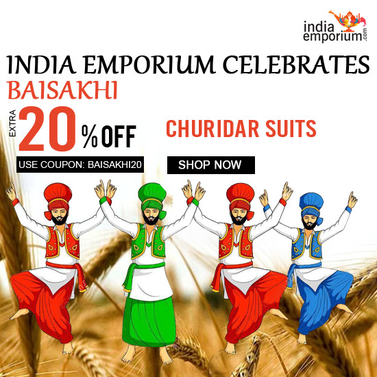Baisakhi Sale on Churidar Suits