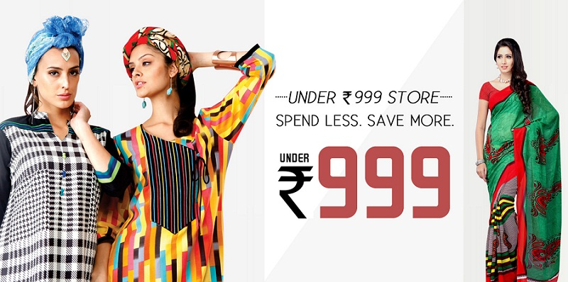 Under Rs. 999 Store