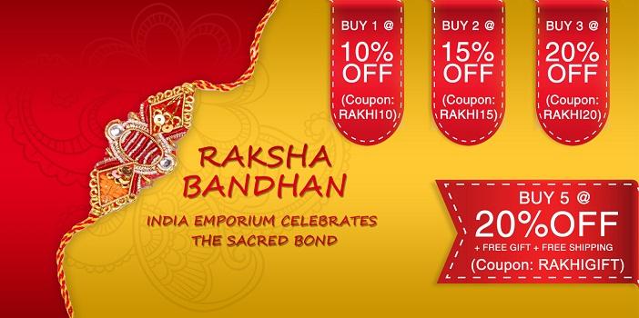 Rakhi Offers