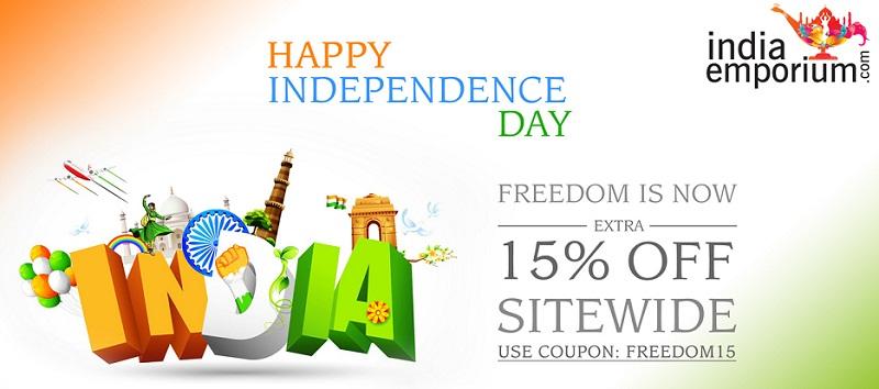 India Emporium Celebrates Independence day