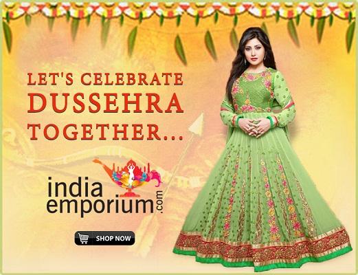 Celebrating Dussehra