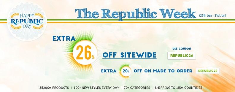 republic week sale