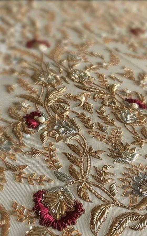 India Emporium Blog Hand Embroidery Designs For Lehenga