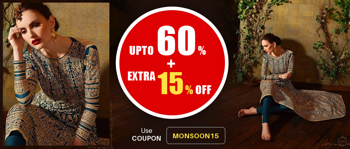 Monsoon offer - 60 percent + extra 15 percent off
