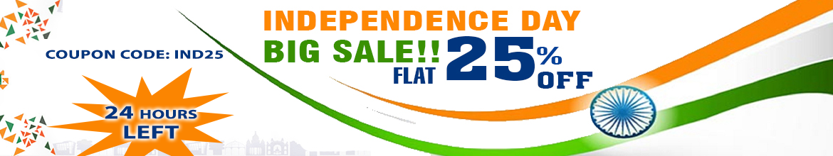 Independace Offer - 25% off