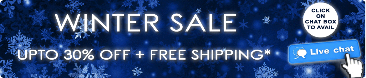 Cyber Monday Offer - extra 10% off plus free worldwide shipping